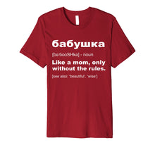 Load image into Gallery viewer, Definition Of Babushka T-Shirt Funny Russian Grandma Gift