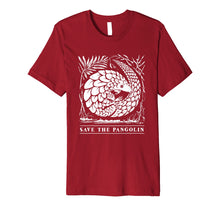 Load image into Gallery viewer, Endangered Species Shirt - Save The Pangolin T-Shirt