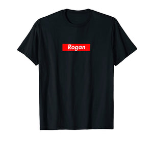 Intellectual Dark Web Store: Rogan Box Logo T-Shirt