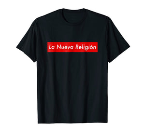 La Nueva Religion THE BAD BUNNY T-Shirt Camisas