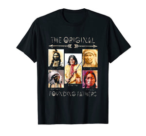 Chief Joseph, Sitting Bull, Geronimo and Red Cloud T-Shirt