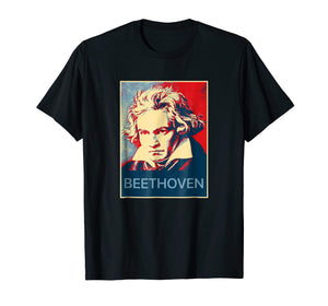 Beethoven T shirt - Tee classical musical lovers gift