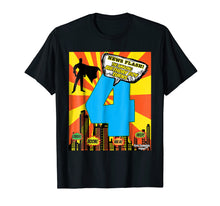 Load image into Gallery viewer, Birthday Boys Shirt Age 4 Superhero Comic Book Theme Party