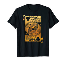 Load image into Gallery viewer, King of Hearts Card T-Shirt