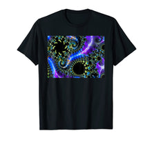 Load image into Gallery viewer, Math Geek Fractal Light Shirt, Geometric Fractal