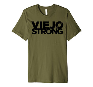 Mens Official Viejo Strong Logo
