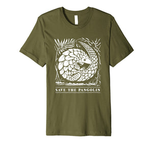 Endangered Species Shirt - Save The Pangolin T-Shirt