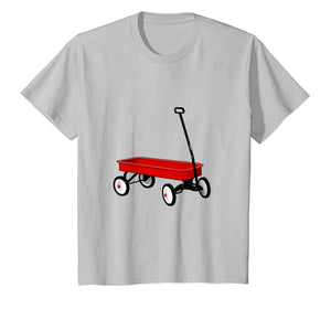 Classic Red Wagon Vintage Retro Children's Toy T-Shirt