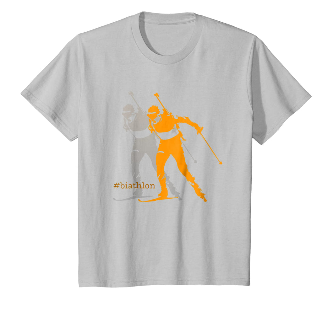 Biathlon Biathlete Skiing Shooting for Men Women Kids