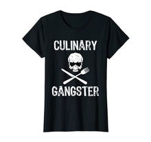 Load image into Gallery viewer, Culinary Gangster Funny Cooking Chef T-Shirt