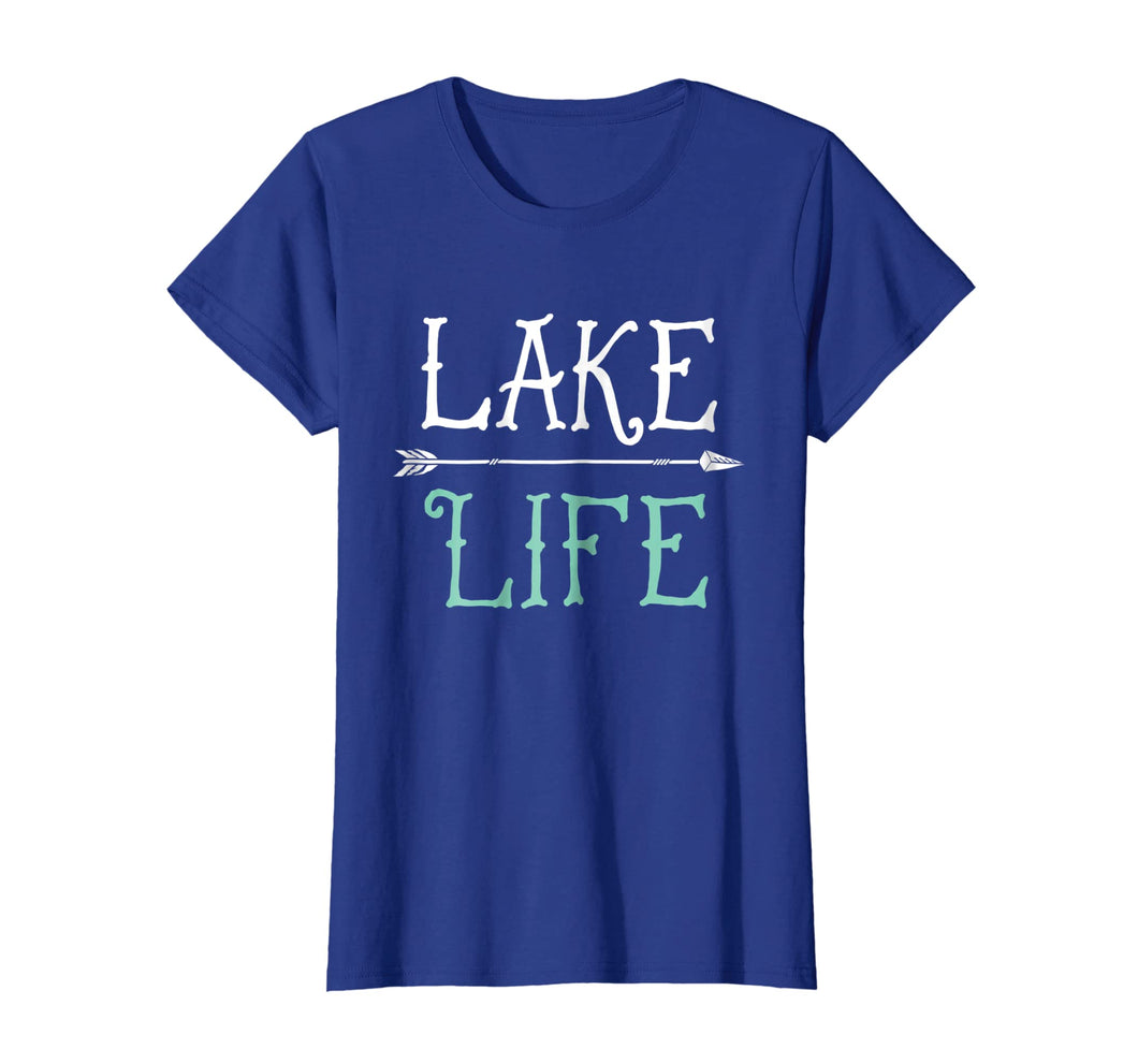 Lake Life T shirt Fishing Boating Sailing Funny Outdoor Tee
