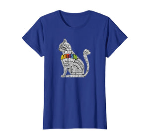 Autism Awareness Cat T Shirt - Gift for Autistic Teacher