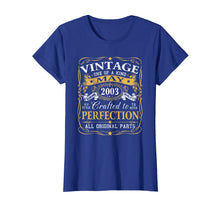 Load image into Gallery viewer, May 2003 T-shirt Retro Vintage 16th Birthday Decoration