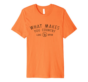 Luke Bryan - What Makes You Country T-Shirt