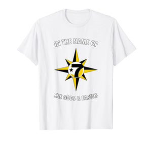 In the Name Of the Gods & Earths 7 Logo 5 percent t shirt