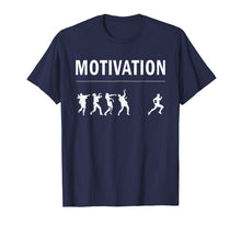Load image into Gallery viewer, Motivation for Running - Zombie Apocalypse T Shirt, Original