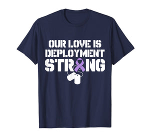 Military Child Month Purple Up Pride Deployment T Shirt