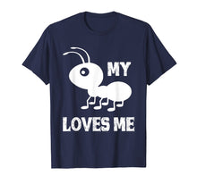 Load image into Gallery viewer, Ant T shirt_My Aunt Loves me Family Gifts for Nephew & Niece