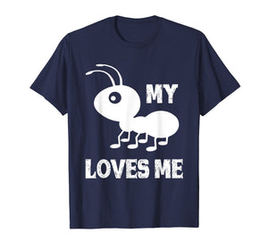 Ant T shirt_My Aunt Loves me Family Gifts for Nephew & Niece