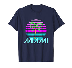 Art Deco Miami T-Shirt - Summer Fashion Tee