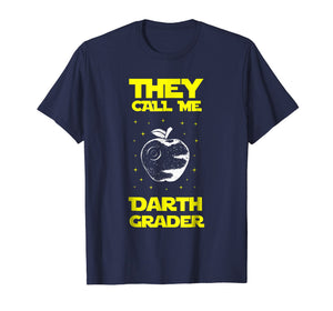 I Am Darth Grader Sci-Fi Space Funny T-Shirt