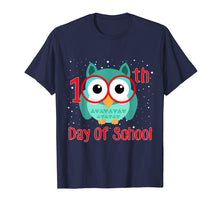 Load image into Gallery viewer, Cute Owl 100th Day Of School T-shirt 100 Days Smarter Tee