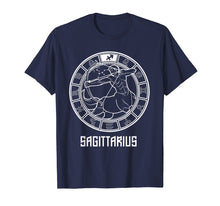 Load image into Gallery viewer, Sagittarius Zodiac T-Shirt November December Birthday Tee