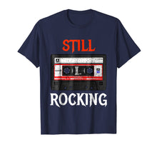 Load image into Gallery viewer, Classic Rock Cassette Tape T-Shirt - Funny 80's Vintage Tee
