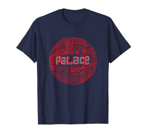 Crystal Palace - Red Typography Print t-shirt