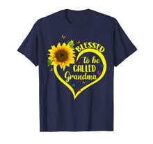 Load image into Gallery viewer, Blessed To Be Called Grandma Sunflower Tshirt