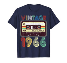 Load image into Gallery viewer, 53rd Birthday Gift Vintage Classic Mixtape 1966 T-Shirt