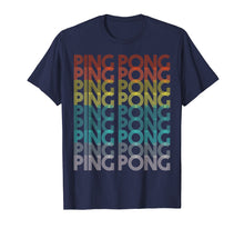Load image into Gallery viewer, 70s Retro Ping Pong T-Shirt Table Tennis Gift Tee Tshirt