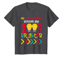 Load image into Gallery viewer, Kindergarten Teacher 100 Days of School Shirt Brighter