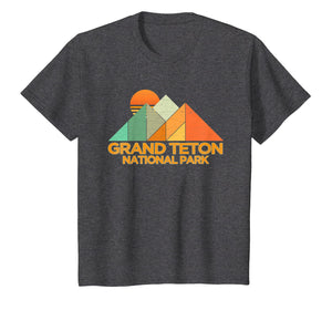 Retro Vintage Grand Teton Shirt National Park Tee Shirt