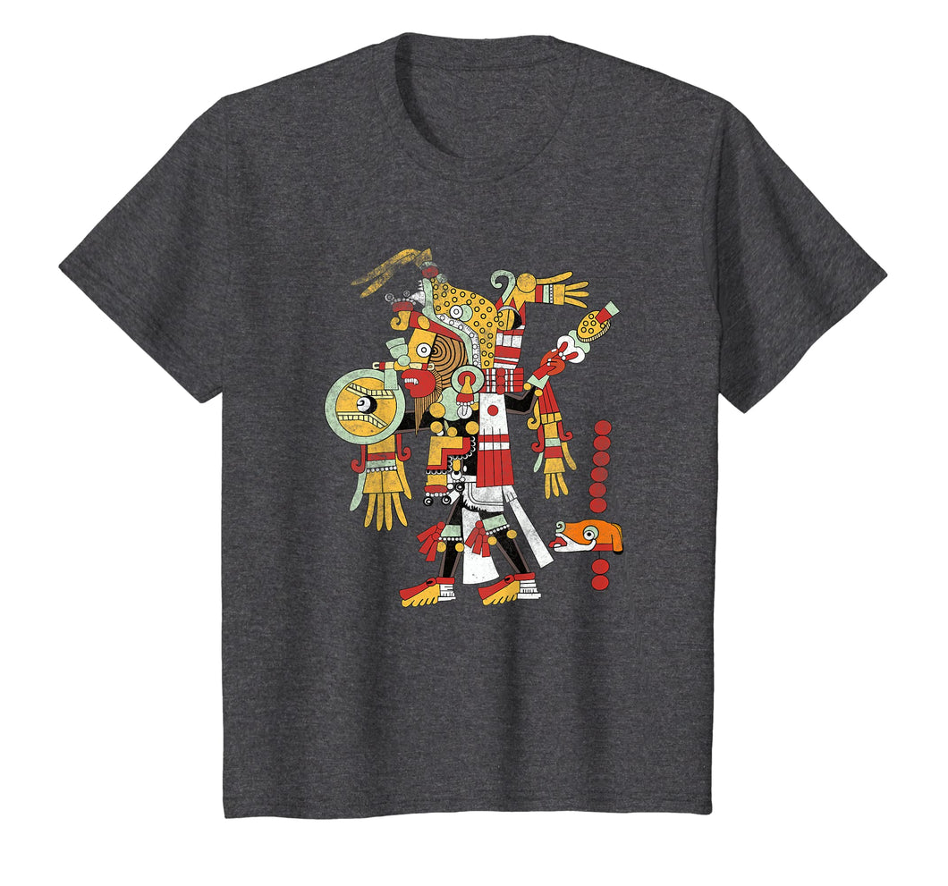 Mayan Ritual Design T Shirt Archeology Student Teacher Tee