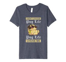 Load image into Gallery viewer, Crazy Pug T-shirt for women loves pugy is funny gift tshirt
