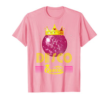 Load image into Gallery viewer, Disco Queen Tshirt - Retro 70s Vintage Disco Ball