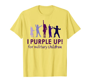 I Purple Up 2019 Shirt, For The Month Of The Military Child