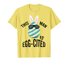Load image into Gallery viewer, Mens This Guy Is Egg-cited Pregnancy Reveal T shirt Gift