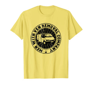 Men With Ven Removal Company Logo T-Shirt