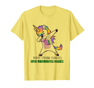 Brave strong Fearless Unicorn Neurofibromatosis Shirt