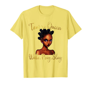 April May Birthday Taurus Girls T-Shirt American Black Women