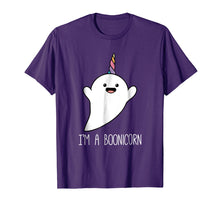 Load image into Gallery viewer, I'm a Boonicorn, Cute Halloween Shirt, Unicorn Ghost T Shirt
