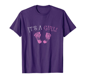 It's A Girl Gender Reveal Shirt | Matching Family Shirts