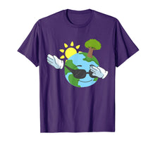 Load image into Gallery viewer, Cool Dabbing Earth Day Tshirt for Kids and Toddlers