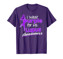 Load image into Gallery viewer, I wear Purple for me Lupus Awareness shirt