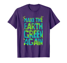 Load image into Gallery viewer, Make The Earth Green Again - Earth T-Shirt For Kids & Adults