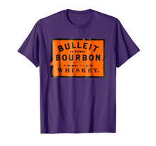 Load image into Gallery viewer, Bulleit Bourbon Frontier Whiskey t-shirt wine