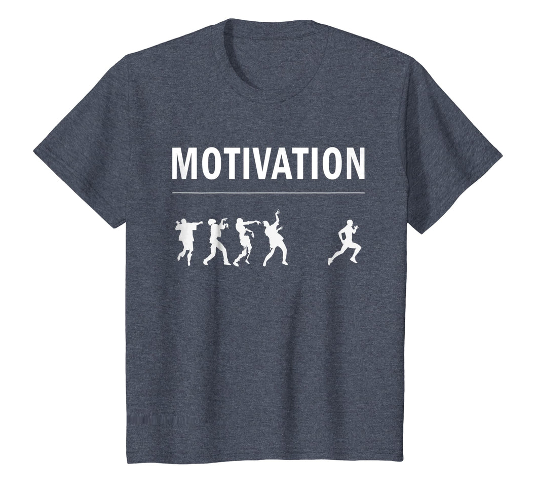 Motivation for Running - Zombie Apocalypse T Shirt, Original