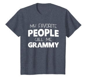 My Favorite People Call Me Grammy Gift T-Shirt